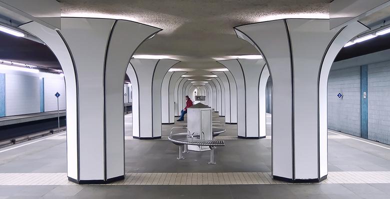 Marconiplein 3 - Metrostation Marconiplein.<br /> Bedankt voor de reacties op mijn vorige foto.<br /> Gr. Adri.