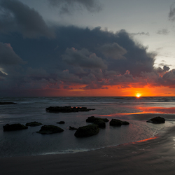 Sunset Ambleteuse