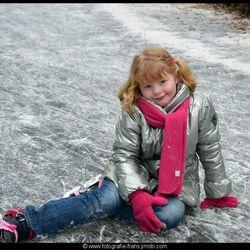wat een koude ijsvloer