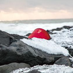 Strand bij VIK IJsland