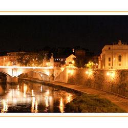 Rome in avondlicht