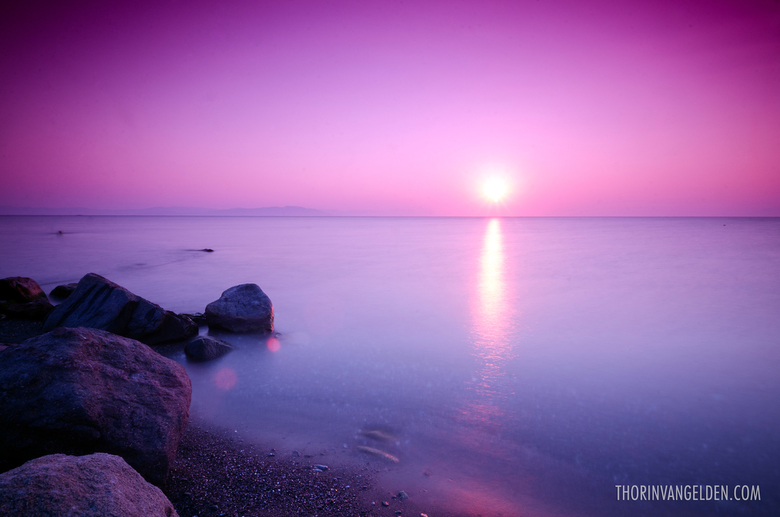 Kos Sunrise - Long exposure shot vanaf Kos strand Griekenland.