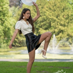 In dancing mood