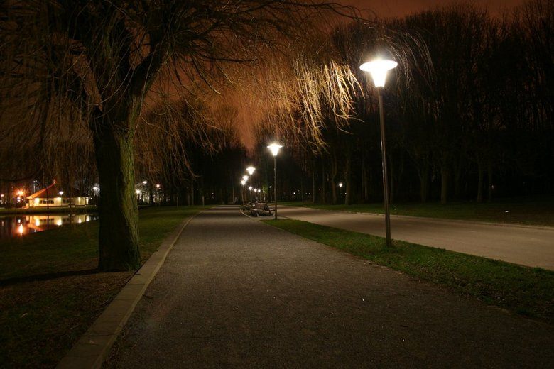 Park by night -