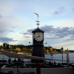Oslo bij valavond