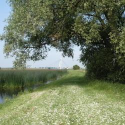 Eilandbrug bij Kampen