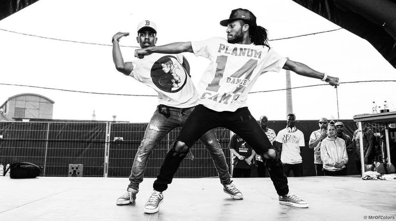 HipHopDancePortrait Kenzo And Shay By #MrOfColorsPhotography - (NL) HipHopDancers: <br /> ShayLatukolan (Left) And Kenzo Alvares (Right)