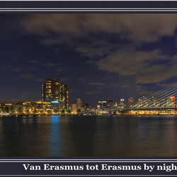 van Erasmus tot Erasmus hdr-panorama