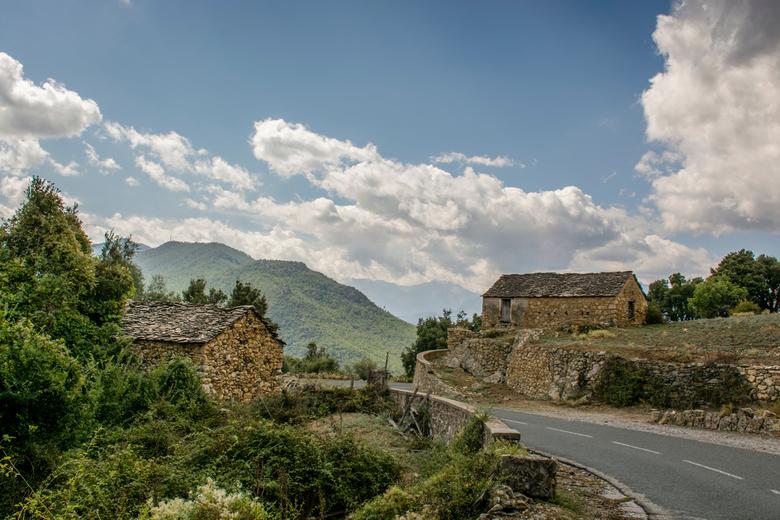 Corsican road - op rondreis door Corsica.