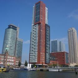Rotterdam skyline Kop van Zuid