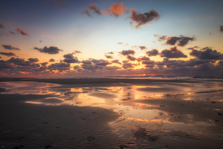 Sunset Beach - Terugblik naar een mooie avond op Ameland afgelopen zomer