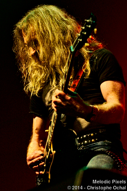 Doug Scarratt - Saxon - Doug Scarratt van Saxon Live @ Power Prog & Metal Fest 2014
