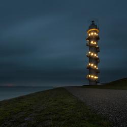 Radartoren langs de Westerschelde