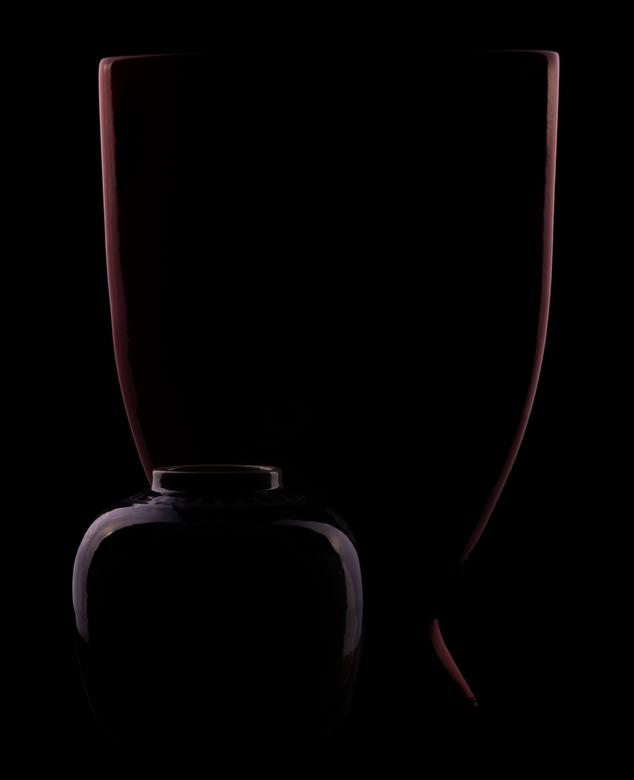 Vazen in het donker - Vazen in het donker