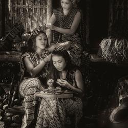 Three Bali Girls