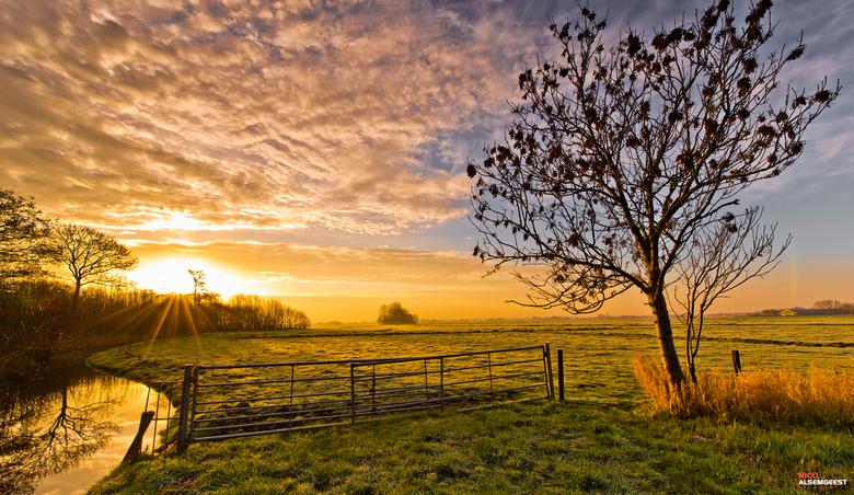Good Morning! - Goedemorgen allemaal! Vandaag weer vroeg opgestaan om de prachtige zonsopgang te fotograferen. <br /> <br /> Meer foto`s: www.facebo
