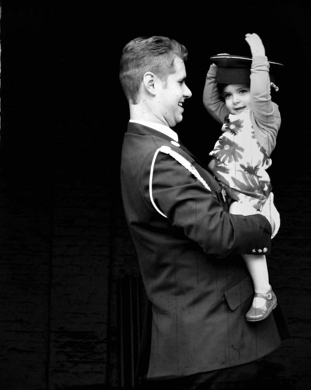 coup de foudre - vader dochter liefde is zoals liefde op het eerste gezicht.
