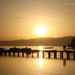 Sunset Ohrid