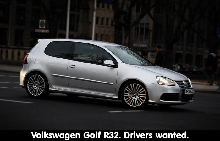 Volkswagen Golf R32 - De R32-versie van de Volkswagen Golf is een ondergewaardeerde auto voor velen omdat het 'slechts' een Golfje zou zijn.