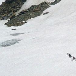 Bewerking: Oversteek Silvretta gletscher