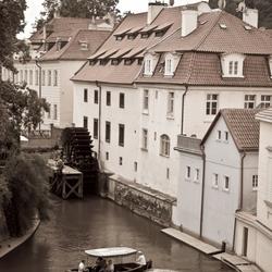 Bootje varen in Praag