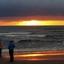 zonsondergang Zandvoort