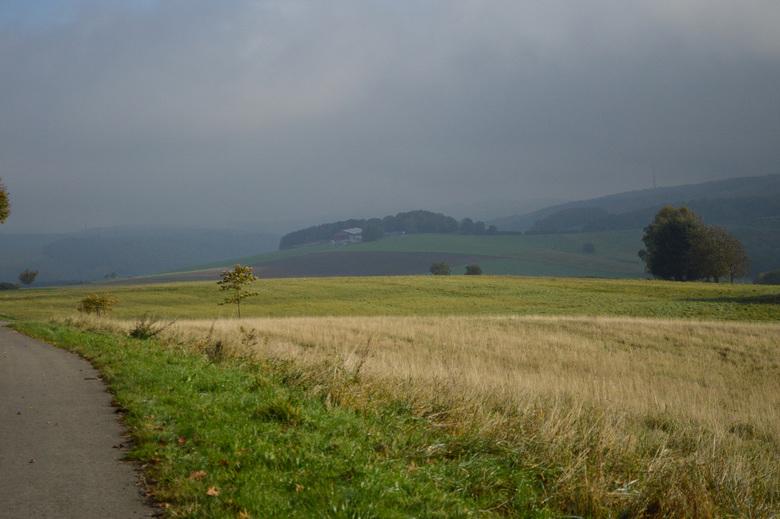 Landschap - op vakantie in Duitsland kwamen we op een het einde van een wandelroute dit uitzicht tegen.