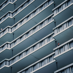 Toeschouwers in Rotterdam