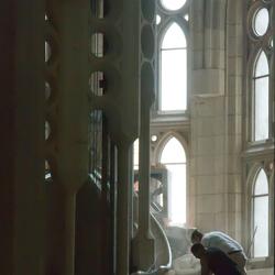Sagrada Familia - aan het werk 1