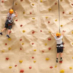 De klimwand