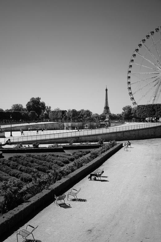 Tonal Paris. - Looking back at Paris.