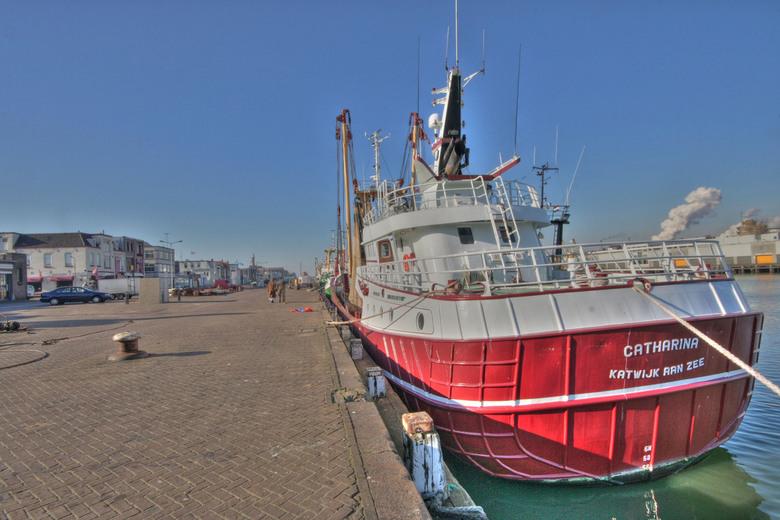 vissersboot -