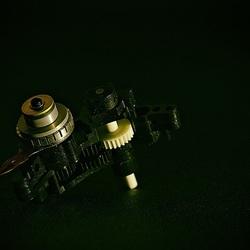 Small motor of a camera lens.