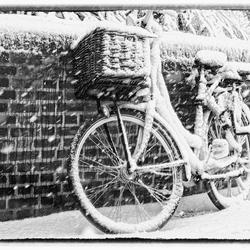 Laat die fiets maar staan vandaag