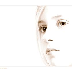 mijn eerste portret ...