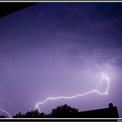 Onweer in Hoogeveen