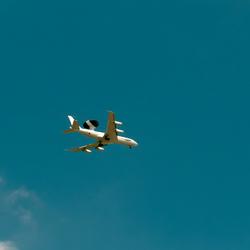 AWACS ready for landing