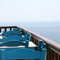 Kreta blauw