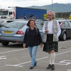 In Schotland hebben de vrouwen de broek aan