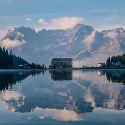 Lago di Misurina hotel