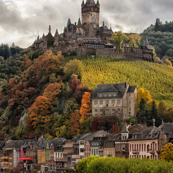 Cochem, Castle on the hill