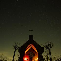 Chapel under the stars
