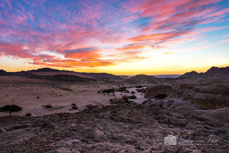 Wadi Araba Sunset
