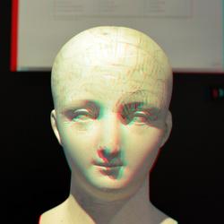 medical head Boerhaave Leiden 3D