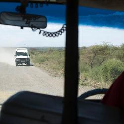 Op doorreis van Kenya naar Tanzania