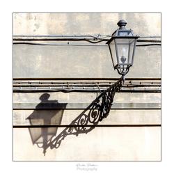 Lamp met schaduw
