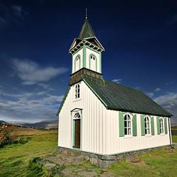 Kerk in Thingvellir