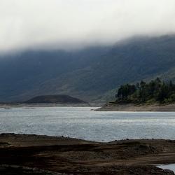 Loch in de Highlands van Schotland