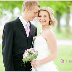 Kim en Mike  very happy