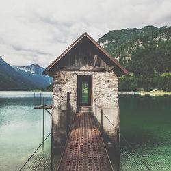 Little lake house, Italy